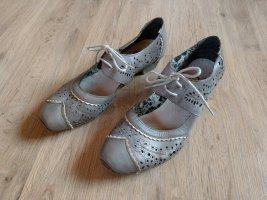 Pumps Schuhe Rieker grau