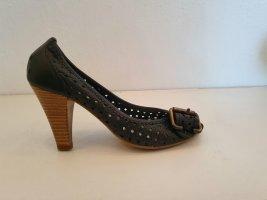 Pumps Schwarz Gr. 36 Bullboxer High heels hohe Schuhe