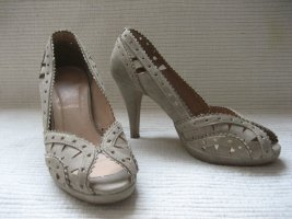 pumps sommer topzustand grau gr. 38 yessica