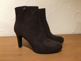 5th Avenue Zipper Booties brown-taupe