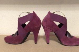 Pumps  violettrot