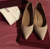 Bally Pointed Toe Pumps nude