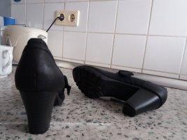 Pumps met bandjes zwart