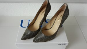 Guess High Heels gold-colored