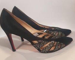 Christian Louboutin Classic Court Shoe dark blue