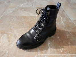 Punk Rock Chunky Chelsea Boots Combat Military Biker Stiefel TOP TREND
