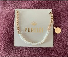 Purelei Bracelet white-gold-colored