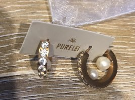Purelei Ear Hoops rose-gold-coloured