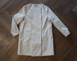 puristischer COS Mantel cremefarben Gr. 38