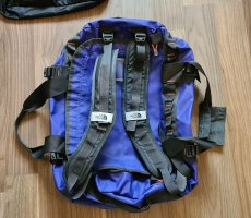 Purple North Face Duffle/Backpack