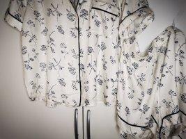 Fairy Dust Pyjama natural white-dark blue