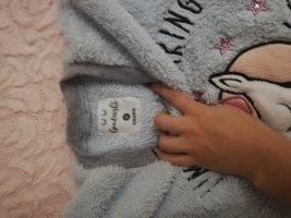 Pijama rosa claro-azul bebé