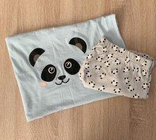 Colloseum Pyjama light grey-baby blue