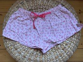 Pyjama Shorts mit Flamingos in Größe 36/38