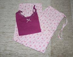 Tchibo / TCM Pijama rosa-púrpura