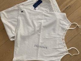 Ralph Lauren Piżama w kolorze białej wełny-czarny