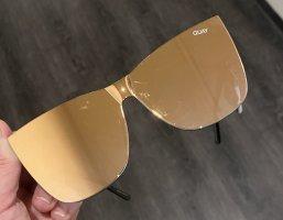 Quay Glasses gold-colored-black