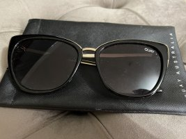 Quay Butterfly Glasses black-gold-colored