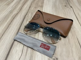 Ray Ban Glasses gold-colored-light blue