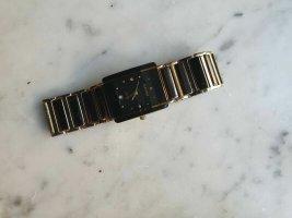 Rado Orologio con cinturino di metallo nero-oro