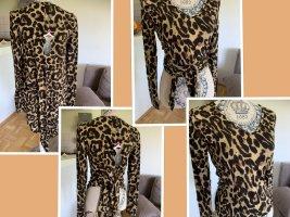 Raffiniertes LeoLook Shirt! 2in1 - OneSize - Brown/Beige - NEW!