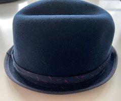 Rag & bone Sombrero de ala ancha magenta-azul oscuro
