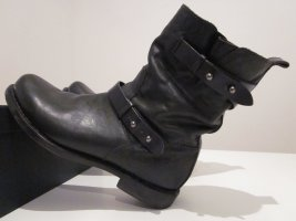 Rag & bone Biker Boots black leather