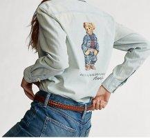 Ralph Lauren bär hemd shirt Jeanshemd