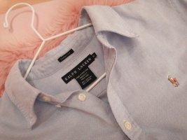Ralph Lauren Koszulowa bluzka w kolorze białej wełny-błękitny