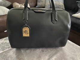Lauren by Ralph Lauren Bowling Bag black leather