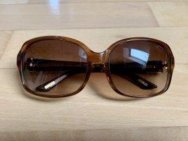 Ralph Lauren Lunettes retro brun-doré