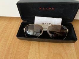 Ralph Lauren Aviator Glasses black-gold-colored