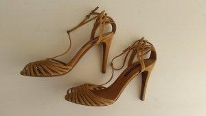 Ralph Lauren Collection, Pumps,Velours, braun, EU 40, neu, € 650,-