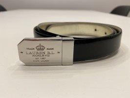 Ralph Lauren Leather Belt black-bronze-colored