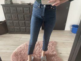 Ralph Lauren Spodnie z wysokim stanem ciemnoniebieski