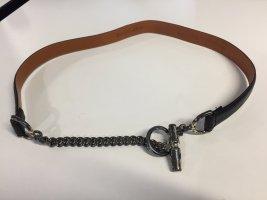 Ralph Lauren Cinturón negro Cuero