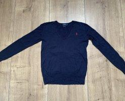 Polo Ralph Lauren Fine Knit Jumper dark blue-red