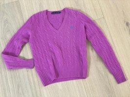 Ralph Lauren Pullover Pink Strick, Größe S