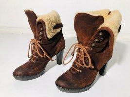 Ralph Lauren Wysokie buty na obcasie Wielokolorowy Skóra
