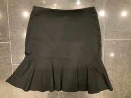 Lauren by Ralph Lauren Flounce Skirt black viscose
