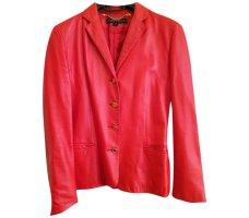 Ralph Lauren rote Lederjacke Vintage