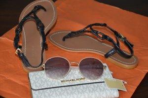 Lauren by Ralph Lauren Flip flop sandalen zwart