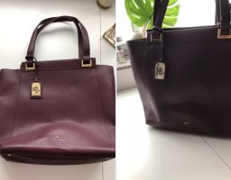 Ralph Lauren Shopper in Bordeauxrot!