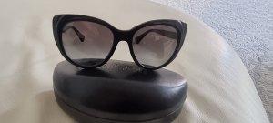 Ralph Lauren Owalne okulary przeciwsłoneczne czarny