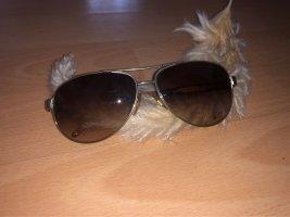 Ralph Lauren Aviator Glasses brown-gold-colored