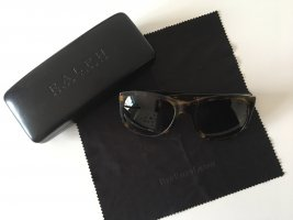 Ralph Lauren Angular Shaped Sunglasses dark brown-brown