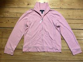 Ralph Lauren Sweatshirt mit Stehkragen und Reißverschluss in Rosa Gr. S 36/38
