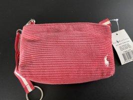 Polo Ralph Lauren Sac de soirée rose coton