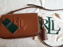 Ralph Lauren Umhänge Tasche braun caramel Damen tasche neu