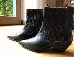 Ras Western Booties black leather